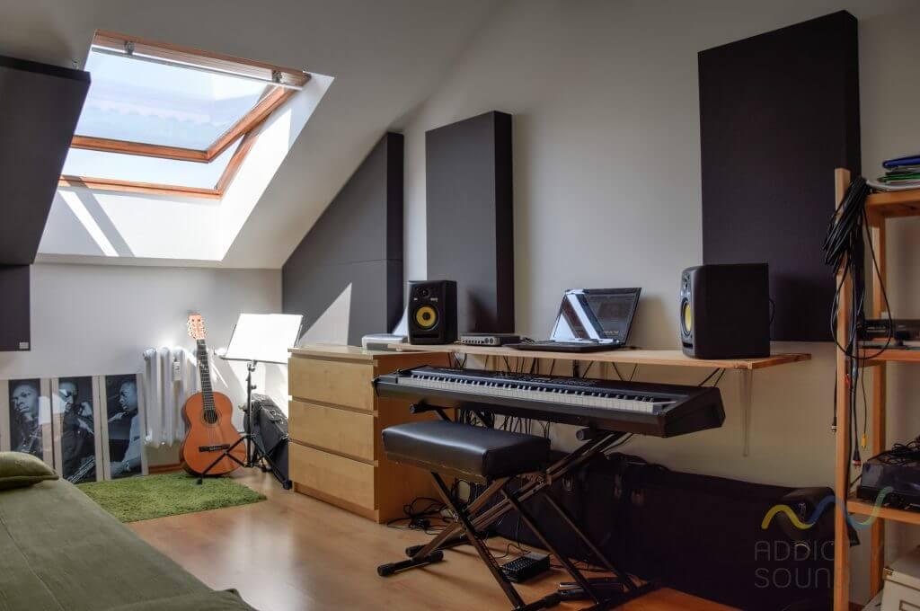 Adaptacja akustyczna pokoju - małych pomieszczeń
